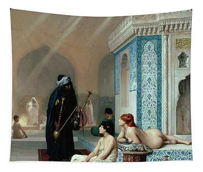 Pool In A Harem Tapestry