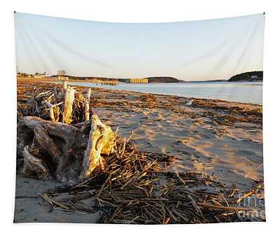 Popham Beach State Park - Phippsburg Maine Usa Tapestry