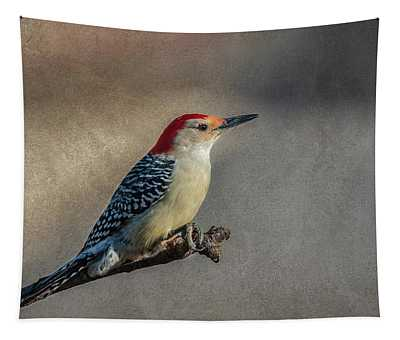 Red Bellied Woodpecker Tapestry