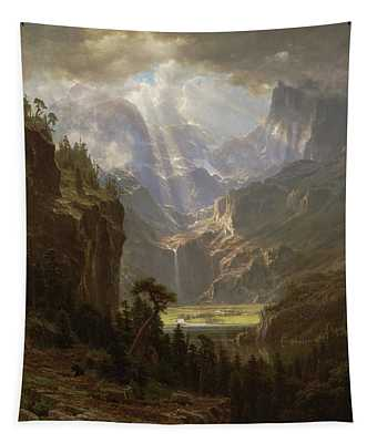 Rocky Mountains, Lander's Peak Tapestry