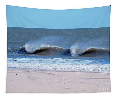 Tapestry featuring the photograph Sea Spray by Patti Whitten