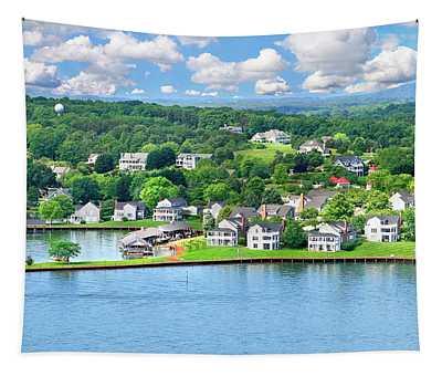 The Boardwalk, Smith Mountain Lake, Va Tapestry