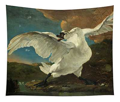 The Threatened Swan, 1650 Tapestry