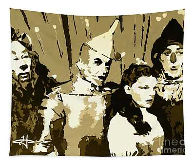 Tradition Of Oz-bwarm Tapestry