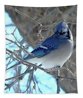 Winter Blues Tapestry
