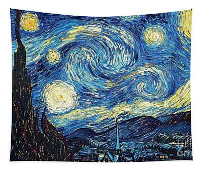 Starry Night By Van Gogh Tapestry