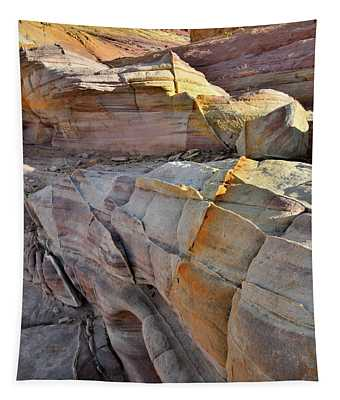 Band Of Gold In Valley Of Fire Tapestry