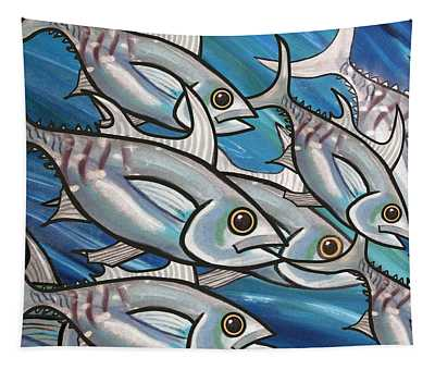 3 Fish Tapestry