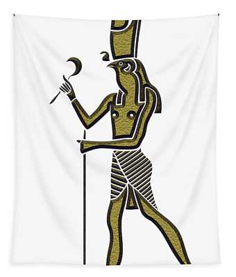 Horus - God Of Ancient Egypt Tapestry