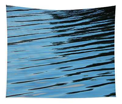Texture Of Water Ripples On The Surface Of The River Tapestry