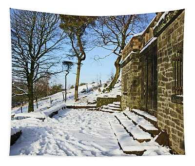 30/01/19  Rivington. Summerhouse In The Snow. Tapestry