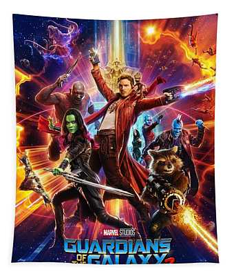 Guardians Of The Galaxy Vol. 2 Tapestry