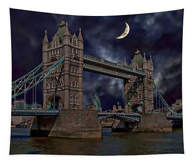 London Tower Bridge Tapestry
