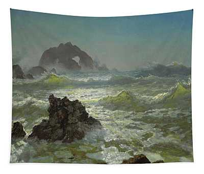 Seal Rock, California Tapestry
