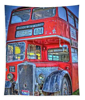 404 London Bus Tour Tapestry