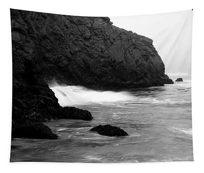 Coastal Fog Big Sur California Tapestry