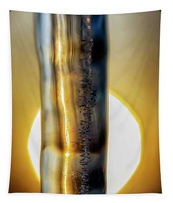 Icicle At Sunrise Tapestry