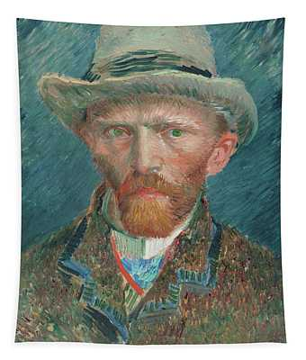 Self-portrait, 1887 Tapestry