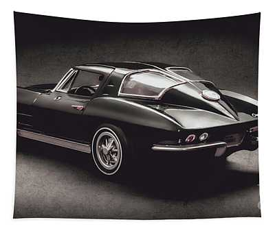 63 Chevrolet Corvette Stingray Tapestry