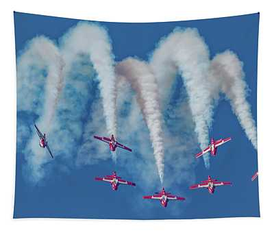 7 Inverted Snowbirds Tapestry