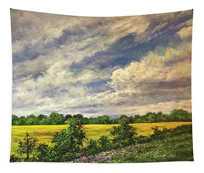 A Band Of Gold Tapestry