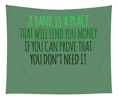 A Bank Tapestry