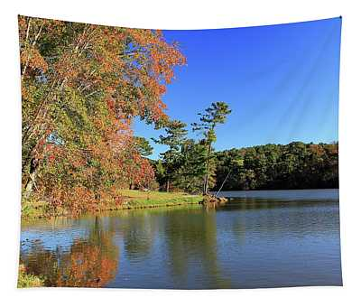 A Calm Peaceful Day Tapestry