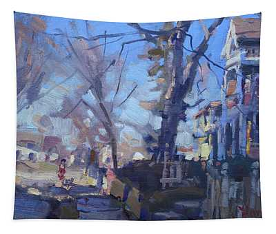 A Cold Sunny Afternoon Tapestry