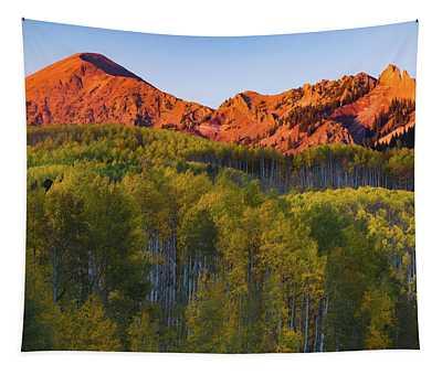 A Colorado Glow Tapestry