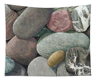 A Congregation Of Stones Tapestry