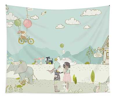 A Day At The Park Tapestry