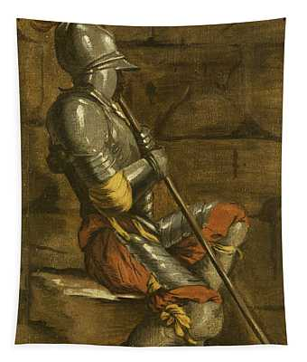 A Figure In Armour Tapestry