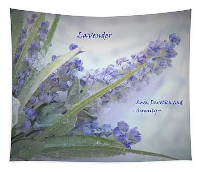 A Gift Of Lavender Tapestry