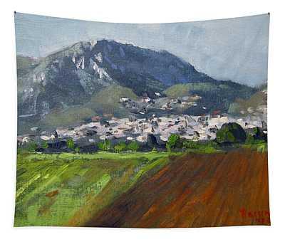 A Greek Village Tapestry