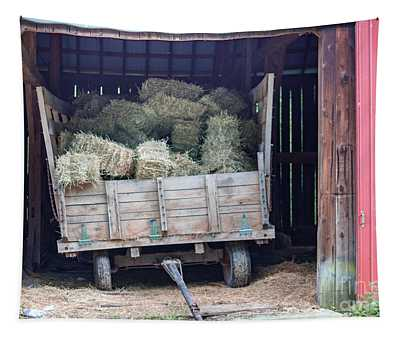 A Hay Wagon Tapestry