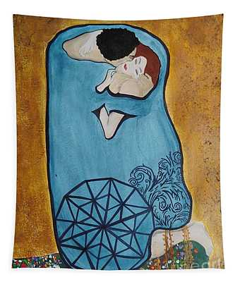 A Kiss From The Heart Tapestry