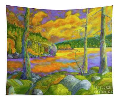 A Magical Wilderness Tapestry