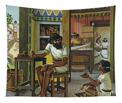A Merchant In Babylon Tapestry