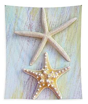 A Pair Of Seastars Tapestry