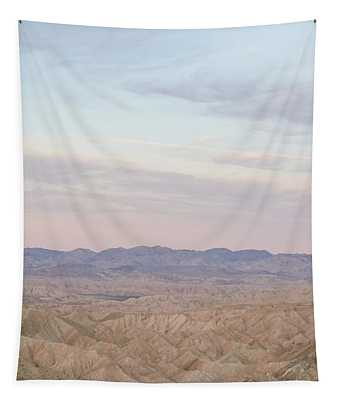 A Peaceful Desert Night No.1 Tapestry