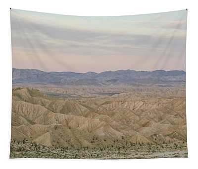 A Peaceful Desert Night No.2 Tapestry
