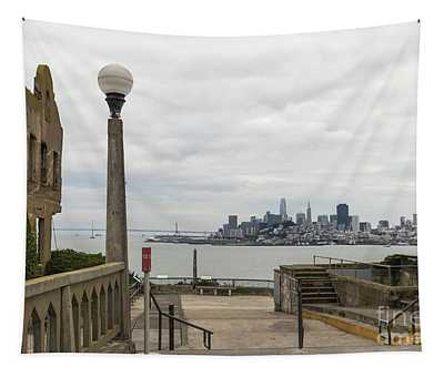 A Prison With A View Tapestry