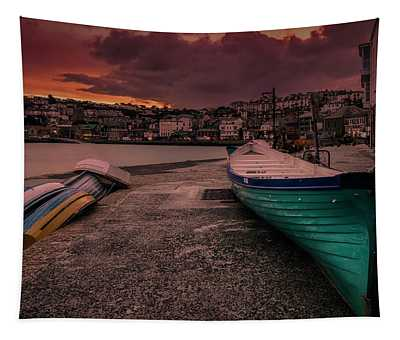 A Quiet Moment - Cornwall Tapestry