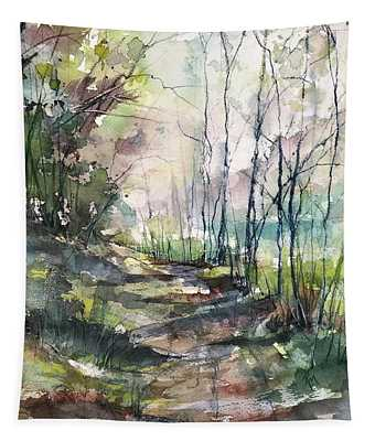 A Road Less Traveled Tapestry