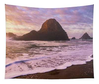 A Seal's Sunset Tapestry