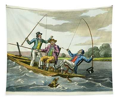 A Sharp Bite Tapestry