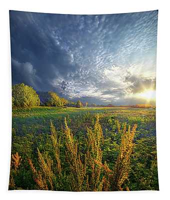 A Slight Chance Of Storms Tapestry