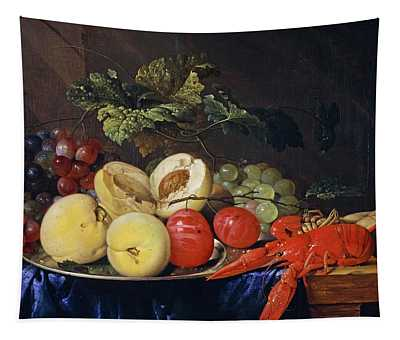 A Still-life With Fruit And Lobster, 1650 Tapestry