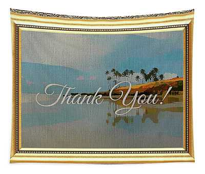 A Thank You Gift Tapestry