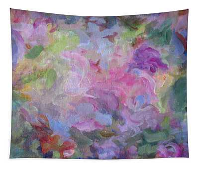 A Time To Bloom Tapestry